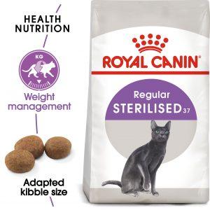Croquette Pour Chat Sterilised 37 Royal Canin Maroc