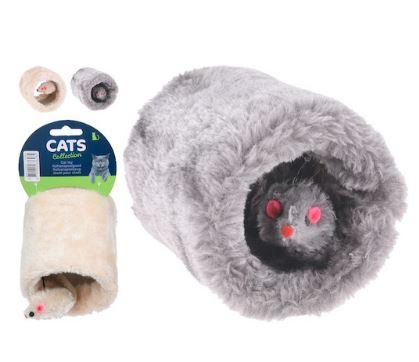 Jouet pour chat Tunnel en Peluche Maroc