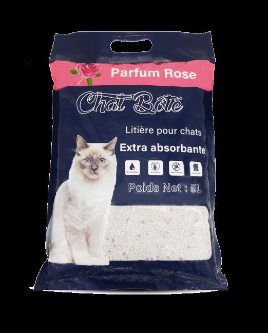 Litière Pour Chat Absorbante Rose Chat Botté Maroc