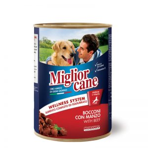 Pate Pour Chien Miglior Cane Bœuf 405g Maroc