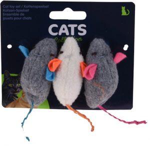 Jouet pour chat 3 souris Maroc