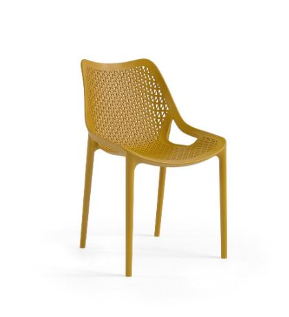 Chaise Oxy Couleur Moutard Maroc