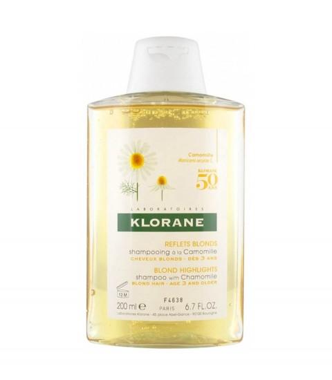Shampooing Camomille Klorane 200 ml Maroc
