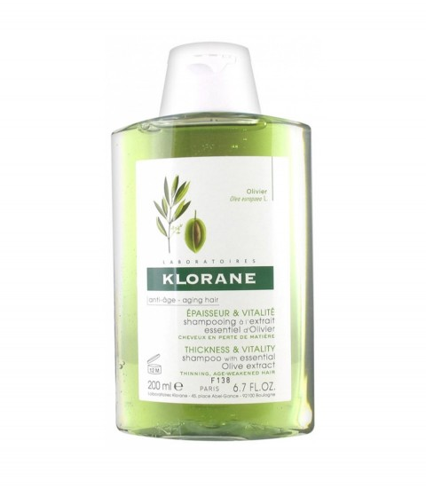 Shampooing Olivier Klorane 200 ml Maroc