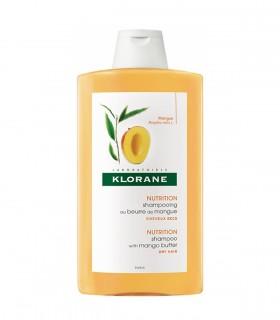 Shampooing Traitant Nutritif Beurre de Mangue Klorane 400 ml Maroc