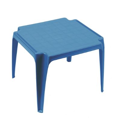 Table Enfant Empilable Bleu Maroc