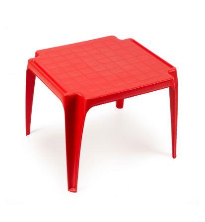 Table Enfant Empilable Rouge Maroc