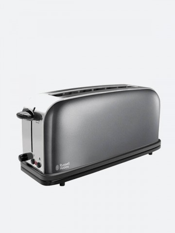 Grille Pain Longue Fente Collection Colours Gris Russell Hobbs Maroc