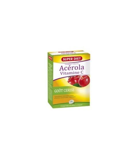 Acérola vitamine C goût cerise Maroc