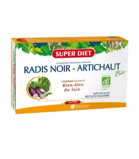 super-diet-radis-noir-artichaut-bio-20-ampoules-maroc