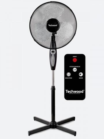 Ventilateur Sur Pied Avec Télécommande Techwood Maroc